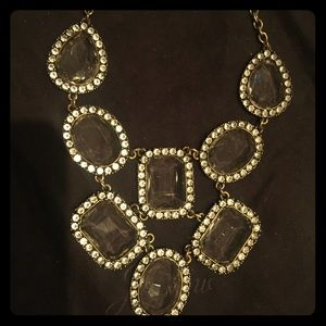 Vintage J Crew crystal necklace